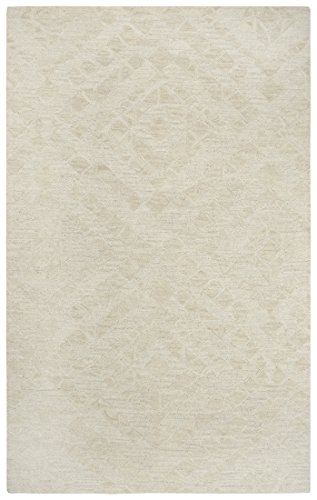 Fifth Avenue Rug - Rizzy Home FTHFA167B00040113 Fifth Avenue Hand Tufted Area Rug 10' x 13' Beige