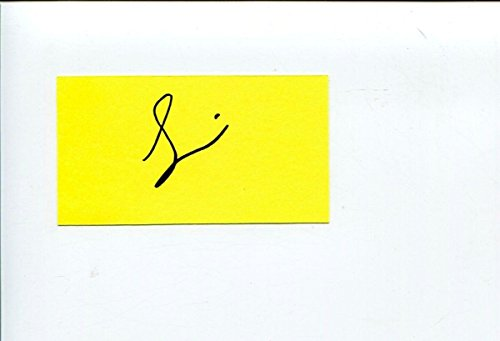 Simon Cowell American Idol Famous Music Producer Signed Autograph - Simon Signed