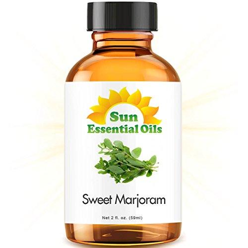 Sweet Marjoram (2 fl oz) Best Essential Oil - 2 Ounces (59ml) ()