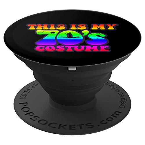 70s Halloween Costume 70s T Shirt Women Men Girls - PopSockets Grip and Stand for Phones and -