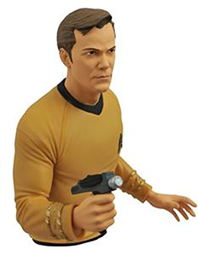 Diamond Select Toys - Star Trek: Captain Kirk Bust Bank - Multi OCT142192