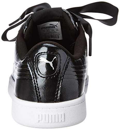 Puma Black Violet Vikky V2 Ribbon puma Femme Silver Basses P puma 1 Sneakers r06Frwxqz