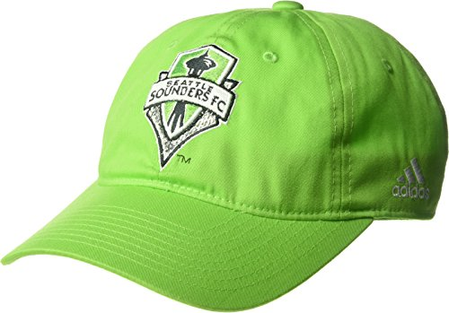 adidas MLS Seattle Sounders FC Women's Adjustable Slouch Hat, One Size, Green