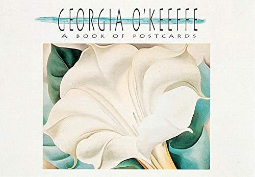 Georgia O'Keeffe: A Book of Postcards (Georgia O Keeffe Best Paintings)