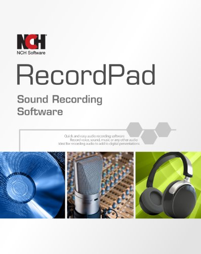 Recordpad Professional Sound Recorder Software [PC Online (Best Nch Software Audio Recorders)