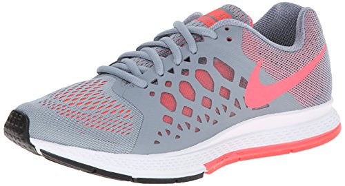 NIKE Women s Air Zoom Pegasus 31 Magnet Grey Hyper Punch Running Shoe 8  Women US - Buy Online in KSA. Shoes products in Saudi Arabia. See Prices 6ce088ddb
