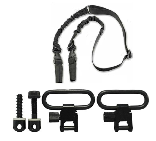 Ultimate Arms Gear Two QD 1'' Inch Slot Loop Detachable Screw and Nut Studs Swivels with Spacers + Two-Point Sling, Black AR15, AR-15, M4, M-4, M16, M-16 .223 5.56 556 .308 by Ultimate Arms Gear (Image #9)