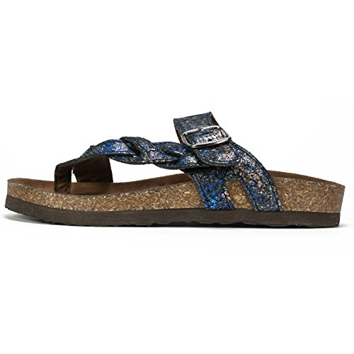 amp; Black Honor Blue Women's Sandal MOUNTAIN WHITE Shoes nAwqz7wR