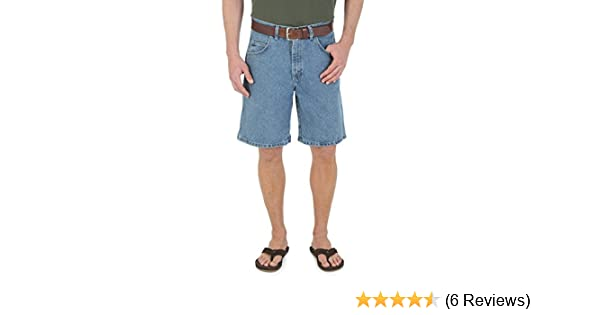 Wrangler Mens Rugged Wear Big /& Tall Relaxed-Fit Short