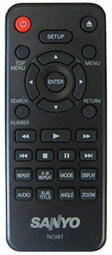 SANYO - Remote Control NC087UH