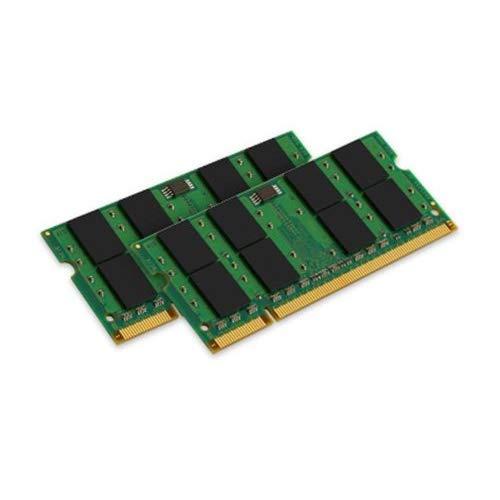 Ddr2 Sdram Valueram 2gb Memory - Kingston ValueRAM 2GB Kit (2X1GB) 800MHZ DDR2 SODIMM Notebook Memory
