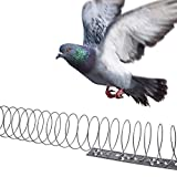 Gardigo - 5 Meters Fence Wall Indoor Spiral | Anti-Bird, Pigeons, Crows, Seagulls and More Control Deterrent Repels