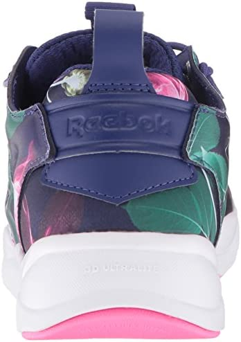 Reebok Furylite Graphic Ankle High Fashion Sneaker