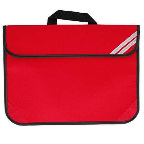 QUADRA CLASSIC BOOK BAG SCHOOL BAG 8 COLOURS BRIGHT ROYAL