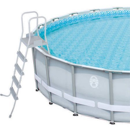 Coleman Quot 22 X 52 Power Steel Frame Above Ground Swimming