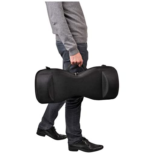 MPman Sac Transport Hoverboard, MP Man Mixte Adulte, Noir
