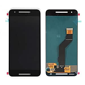 Replacement Repairing Parts Digitizer + LCD Display Screen Assembly for Huawei Nexus 6P Black