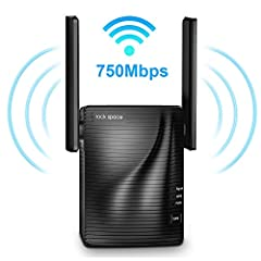 【Note】:2.4GHz: penetration is good, transmission distance is more longer; 5ghz: the speed is more faster, but the penetration is not better than 2.4G,the speed will get half if there are barriers between the extender and devices.q: why the Wi...