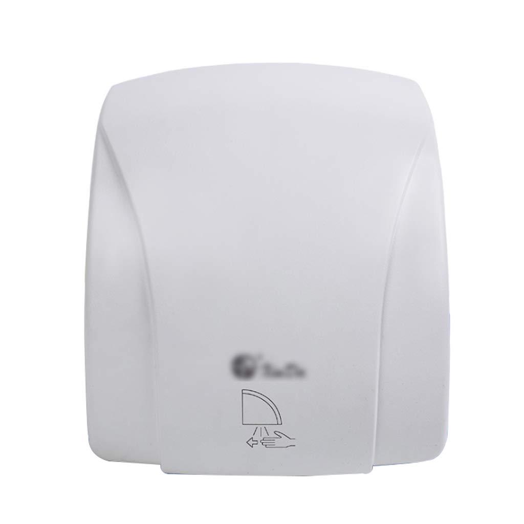PrimeMatik Secamanos el/éctrico de Pared Secador de Manos de Aire Caliente de Alta Velocidad 1000W