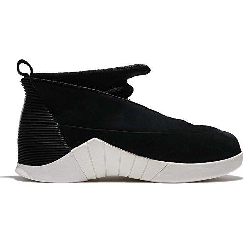 Jordan Hommes Air 15 Rétro Psny, Noir / Noir-voile-noir, 11,5 M Us