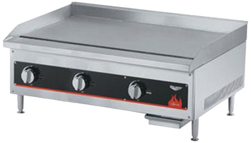 Vollrath (40723) 36'' Gas Thermostatically Controlled Flat Top Griddle - Cayenne Series