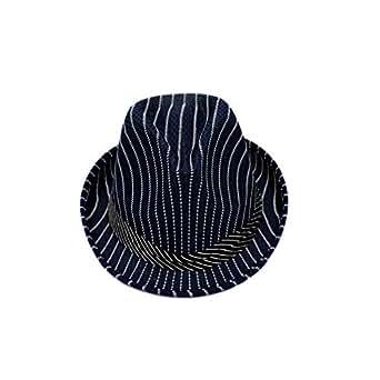 cfcd8da3987a8 HYXUM Summer Dry Striped Cap Jazz Hat caasual Panama Hats Style Fedora and  borsalino Outdoor Travel Beach Sunhat Chapeau for Men Women Unisex