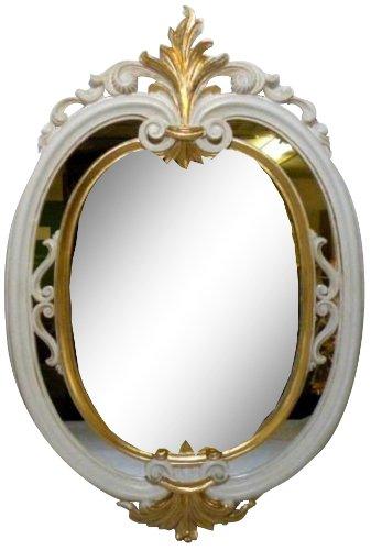 ロイヤルアーデン ミラー鏡 シルバー 約40××61cm B00JUGTBQO