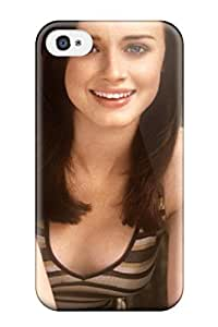 Slim Fit Tpu Protector Shock Absorbent Bumper Alexis Bledel Case For Iphone 4/4s