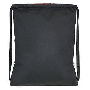 adidas Alliance II Sackpack, Scarlet/Onix/Black, 18 x 13.75-Inch