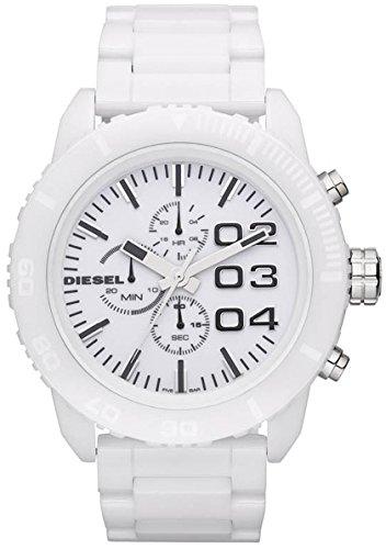 Authentic Ceramic Watch - Diesel Chronograph White Ceramic Mens Watch DZ4220