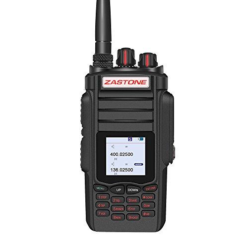 Zastone A19 Two-Way Radio Long Range 10W 999-Channel Military Radio Handheld Walkie Talkie for Adults