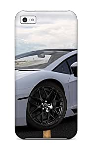 Mary P. Sanders's Shop Snap On Case Cover Skin For Iphone 5c(white Lamborghini Aventador)