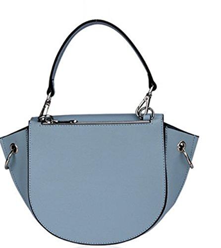 Trapezio Da Tracolla A blue Borsa Donna Pinchu Blue Con Forma Di wH8xqt46