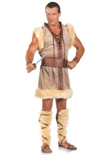 [Adult Barbarian Costume] (Wild Man Costumes)