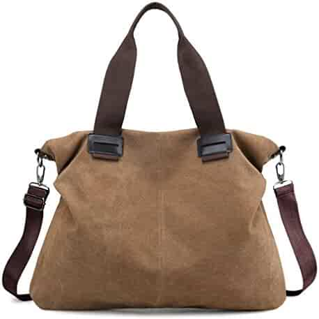 0118c1e09134 Shopping Canvas - Ivory or Browns - Under $25 - Handbags & Wallets ...