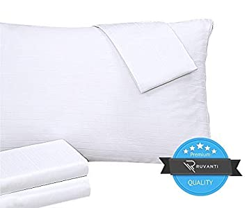 King Zen Master Cotton Bed Bug and Dust Mite Pillow Protector