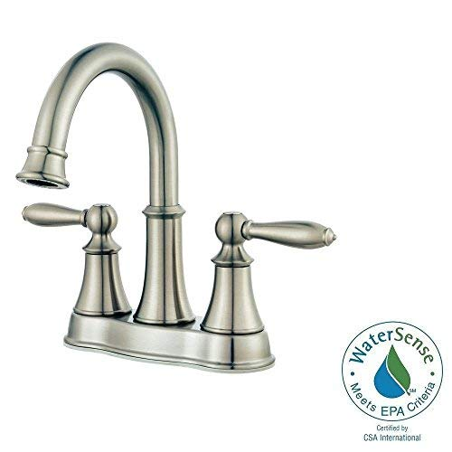 "NEW Pfister Courant 4"" Centerset 2-Handle Bathroom Faucet -"