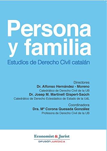 Descargar Libro Derecho Civil Catalán : Persona Y Familia , Estudios Del Derecho Civil Catalán Dr. Alfonso Hernández Moreno