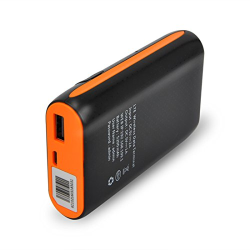 4G LTE Router,Portable 5200mAh Power Bank SIM Wireless Modem With SIM Card Slot Support AT&T with LCD display by Haulonda (Image #2)