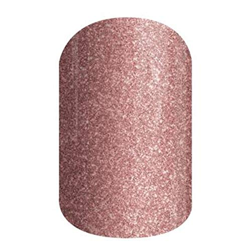 Rose Gold Sparkle - Jamberry Nail Wraps - A611 - Full Sheet