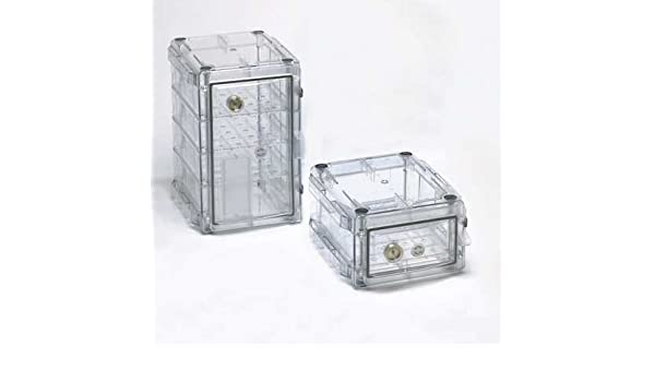 Secador Desiccator Cabinet, Clear, 0.75 Cubic Feet, 13 1/4 x 16 1/4 x 8 1/4 Inches: Office Products: Amazon.com: Industrial & Scientific