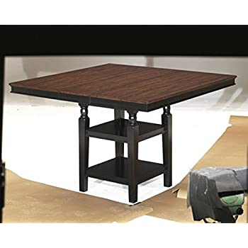 Ashley Furniture Signature Design   Owingsville Dining Room Table   Counter  Height   Vintage Casual With
