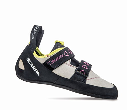 gris escalada yellow Zapatos W de Velocity Scarpa lightgrey TqxpXw7xn