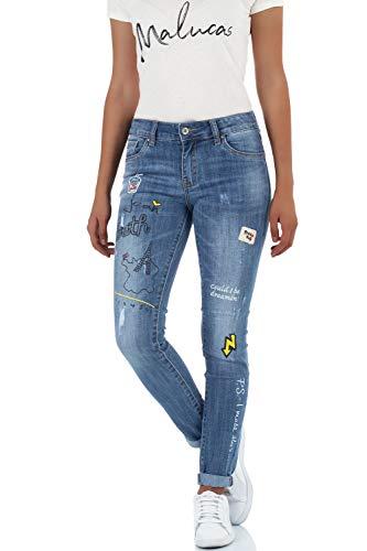 Bleu Bleu malucas Femme Skinny Jeans Bleu xSZqIaZ