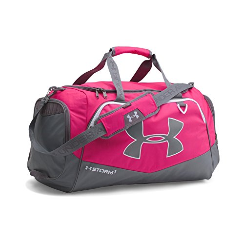 Under Armour Team Storm Undeniable Medium Duffle, Tropic Pink (654)/Silver, One Size