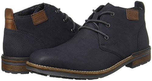 Blu ozean Rieker B1340 Uomo mogano Boots Stivali Desert FvwAwqXY