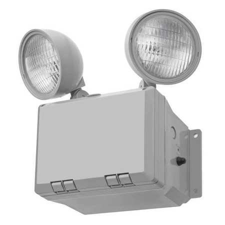 Lithonia Lighting OFL 213F 120 LP BZ M4 Mini-Flood Light with Two 13-Watt 2700K