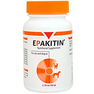 Vetoquinol 822074 epakitin 50 g pet bone for Fish mox amazon