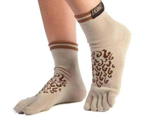 Hobbit Costumes Feet (Jinx mens Hobbit Feet Socks Standard)