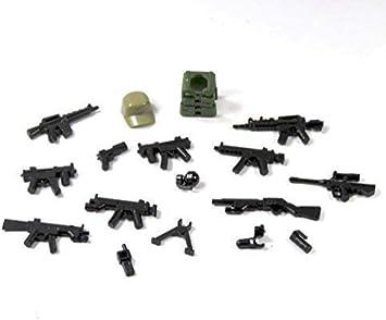 10 Custom Köpfe tan hautfarbe für LEGO® Figuren Polizist Soldat Swat City 12